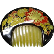 A Beautiful Japanese Antique Woman's Comb