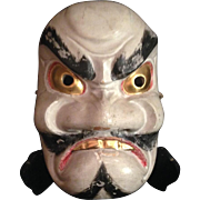 Japanese Antique Kagura 神楽 Mask of a Susana-No-Mikoto