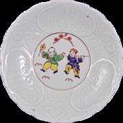 Japanese Antique Imari Porcelain Kakiemon Meissen Style Plate