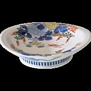 Japanese Antique Imari Porcelain Dish Nabeshima Style