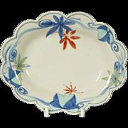 Japanese Vintage Porcelain Nabeshima 鍋島 Style Footed Plate