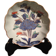 Japanese Edo period Antique ko-Imari Bowl with Peony flowers