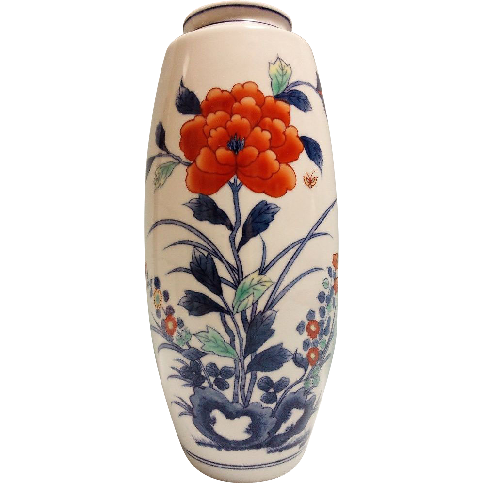 Japanese vintage arita nabeshima porcelain vase famous kawazoe japanese vintage arita nabeshima porcelain vase famous kawazoe seizan the many faces of japan ruby lane reviewsmspy