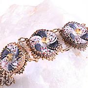 Retro Bracelet Filigree Victorian Style Bracelet