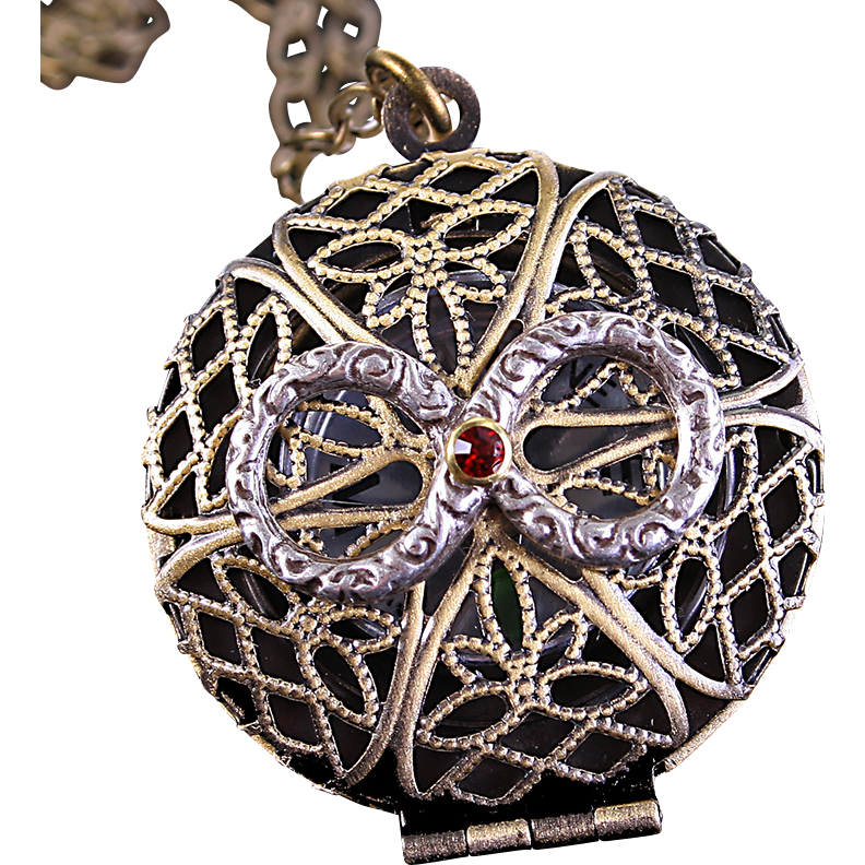 Working Compass Necklace Infinity Necklace Locket Necklace