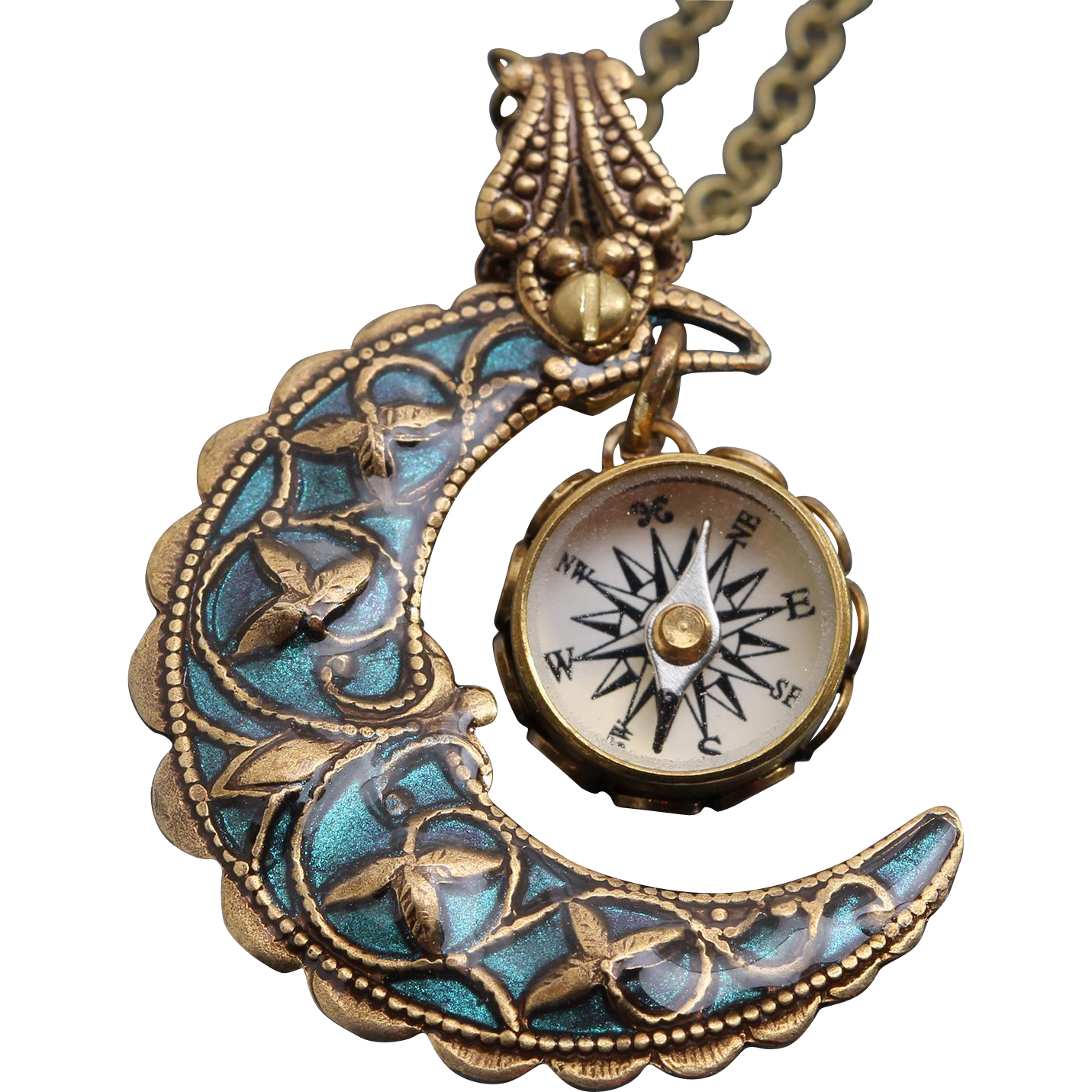 screen shot products elizabeth pm ann necklace compass at