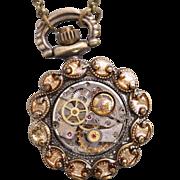 Steampunk Watch Women Watches Pocket Watch Necklace