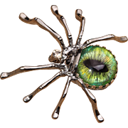 Spider Brooch Spider Pin Spider Jewelry