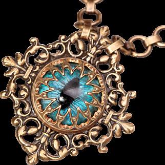 Eye Necklace Dragon Eye Necklace Evil Eye Necklace
