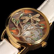 Ladies Wrist Watch Unique Watches Steampunk Watch Tree Of Life Working Watch