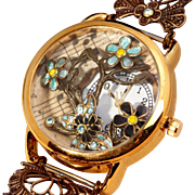Unique Watches Wrist Watch Woman Ladies Wrist Watch Working Watch