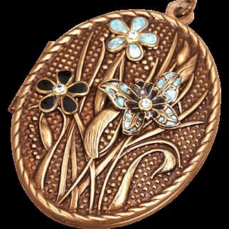 Locket Necklace Compass Locket Necklace Photo Locket Necklace Butterfly Necklace