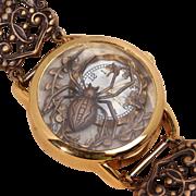 Steampunk Watch Women Wrist Watch Spider Jewelry Unique Wrist Watch Womens
