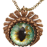 Dragon Eye Pendant Dragon Eye Necklace Dragon Eye Jewelry Dragon Eye