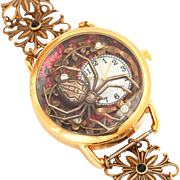 Ladies Wrist Watch, Unique Watches, Spider, Womens Watches, Art Nouveau Style