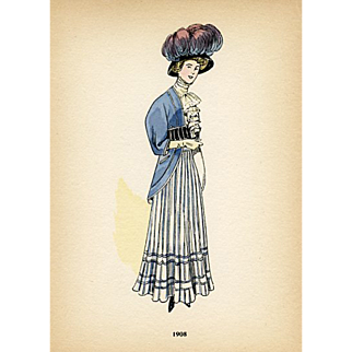 French Fashions for 1908
