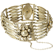 35% OFF Art Nouveau Peruzzi Florence Italy 800 Silver Bracelet