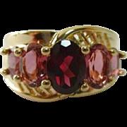 STORE WIDE 14K Garnet Tourmaline Ring