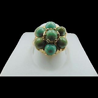 Beautiful 14K Turquoise Vintage Ring