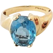 45% OFF   9K London Blue Topaz Ring