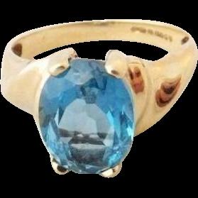 45% OFF   9K London Blue Topaz Ring