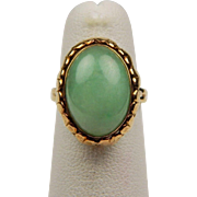 50% OFF 14K Jadeite Jade Ring