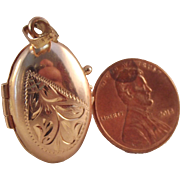 47% OFF 14k Rose Gold Oval Locket