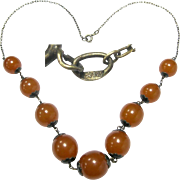 35% OFF 875 Russian Baltic Amber 875 Silver Chain