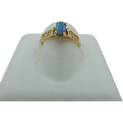 38% OFF Opal Ring 14k Gold | Vintage 14k Gold Opal Ring