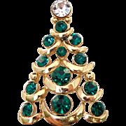 38% OFF Vintage Eisenburg Ice Christmas Tree Pin Brooch