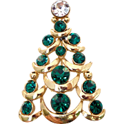 38% OFF Vintage Eisenburg Ice Christmas Tree Pin Brooch