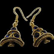 Vintage Weiss Christmas Tree Earrings