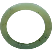 65% OFF vintage pale green Jade bangle bracelet