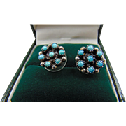 20% OFF Turquoise and sterling stud earrings