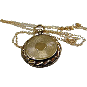 Victorian 15ct Gold Locket. Circa 1860