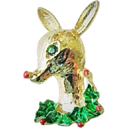 40% OFF Gerrys Reindeer Christmas Holiday Brooch