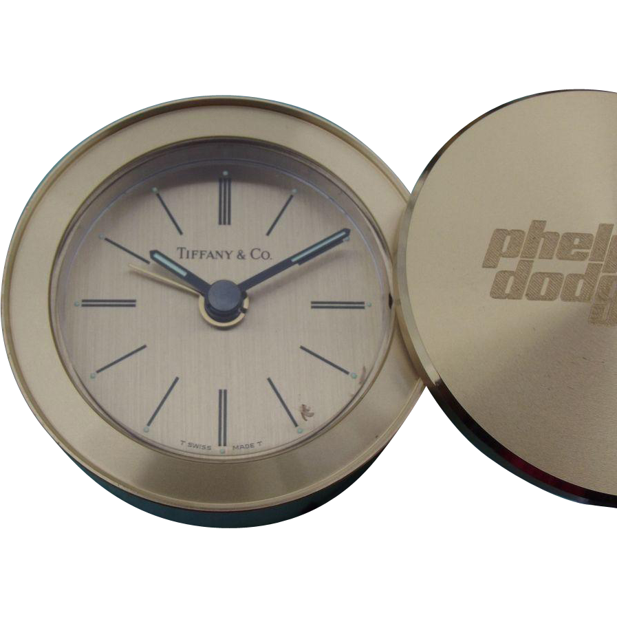 75% OFF Tiffany & Co Clock ~ Phelps Dodge