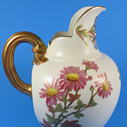 "Royal Worcester Flat Backed 6"" Jug Shape 1094 c. 1889"