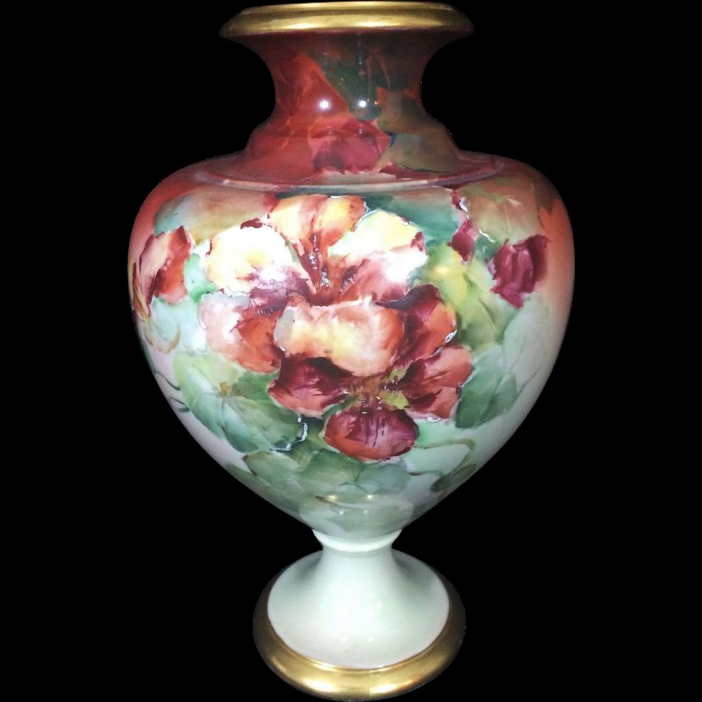 Antique CAC American Belleek Vase