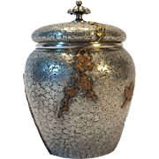 Dominick & Haff Sterling Silver & Mixed Metal Tea Caddy