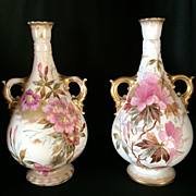 Exquisite Pair of Royal Bonn Vases