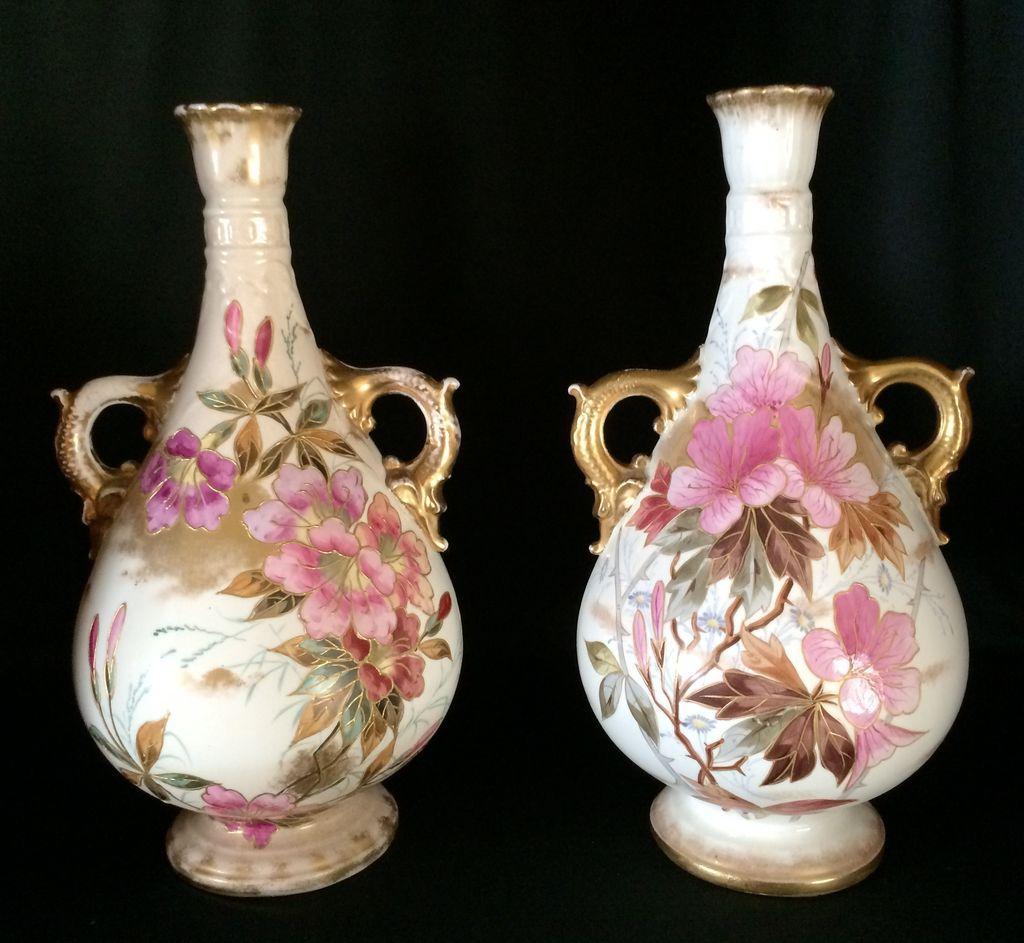Exquisite Pair of Royal Bonn Vases