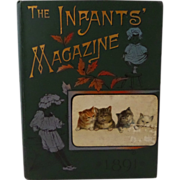 The Infants Magazine 1891 Children's Victorian Hardback Book