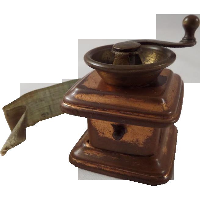 Miniature Tape Measure Coffee Grinder Shape