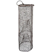 Vintage 3 ft Tall Wire Fish Trap