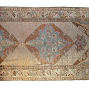 Antique Oushak Runner