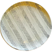 Vintage Mid-Century Italian Ceramic Charger