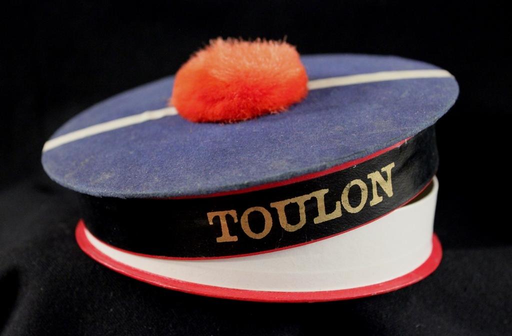 A French 'Toulon' Beret Bon Bon Candy Container