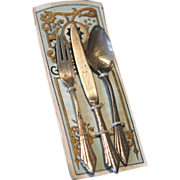 Miniature Continental Silver Flatware