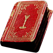 Antique Miniature French Book Circa 1830 - Rare (Didot)